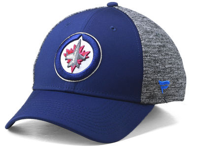 Winnipeg Jets NHL Heathered Team Flex Cap
