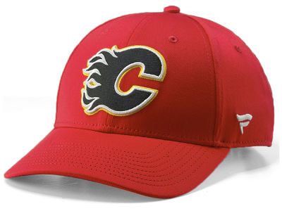 Calgary Flames NHL Double Dilly Adjustable Cap