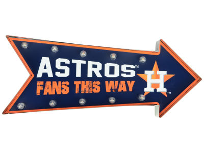 Houston Astros Arrow Marquee Sign