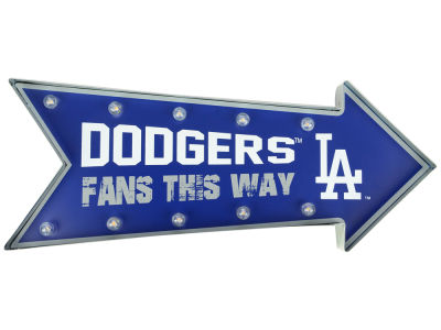 Los Angeles Dodgers Arrow Marquee Sign