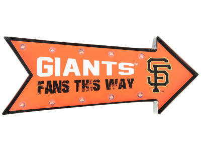 San Francisco Giants Arrow Marquee Sign