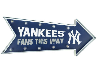 New York Yankees Arrow Marquee Sign