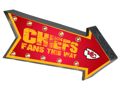 Kansas City Chiefs Arrow Marquee Sign