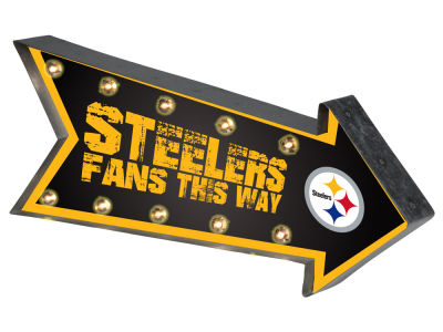 Pittsburgh Steelers Arrow Marquee Sign