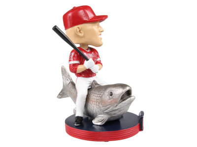 Los Angeles Angels Mike Trout MLB Riding Animal Bobblehead