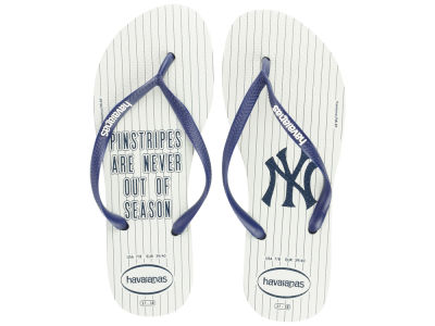 New York Yankees Women's Slim Flip Flop