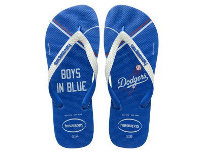 Los Angeles Dodgers Women's Slim Flip Flop