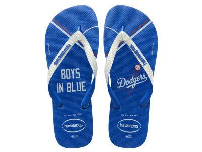Los Angeles Dodgers Men s Top Flip Flop 6a42db9a8801