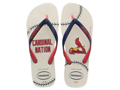 St. Louis Cardinals Women's Slim Flip Flop