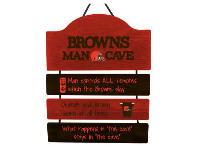 Cleveland Browns ManCave Sign