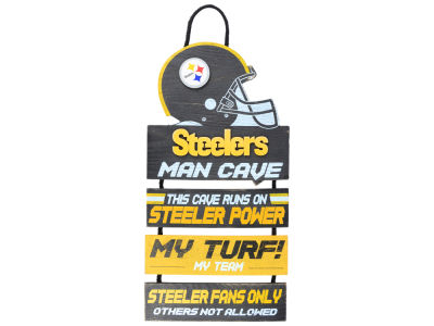 Pittsburgh Steelers ManCave Sign