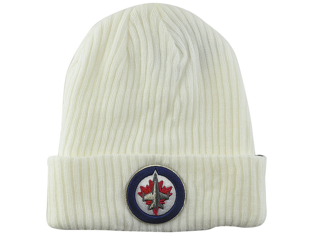 2213b8efc9009 inexpensive winnipeg jets knit pom cap customon 12c51 15102  coupon code  for winnipeg jets nhl double dilly knit lids bb831 dd9bf