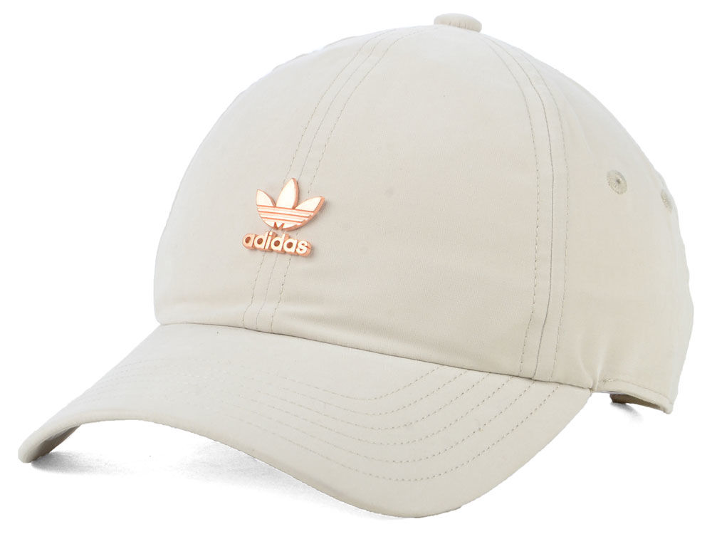 adidas Originals Women s Relaxed Metal Strapback Cap  cc40e252d05
