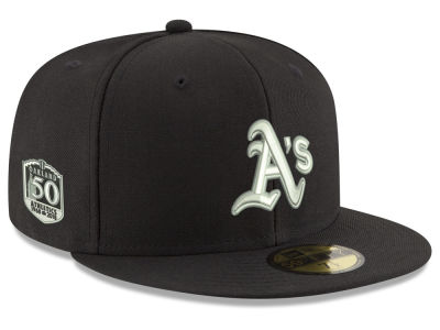 Oakland Athletics New Era 2018 MLB Anniversary Pack 59FIFTY Cap
