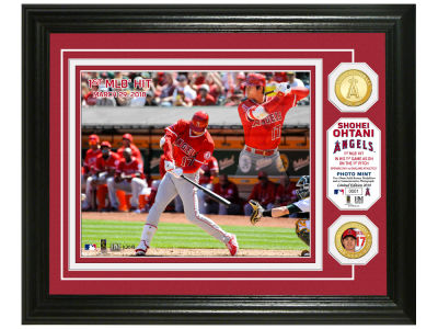 Los Angeles Angels Shohei Ohtani Highland Mint Bronze Coin Photo Mint