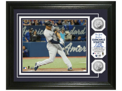 New York Yankees Giancarlo Stanton Highland Mint Silver Coin Photo Mint