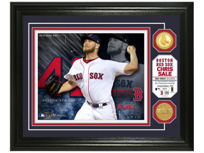 Boston Red Sox Chris Sale Bronze Coin Photo Mint