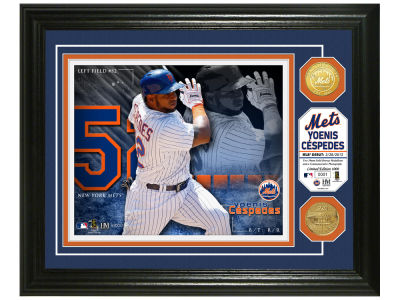 New York Mets Yoenis Cespedes Highland Mint Bronze Coin Photo Mint