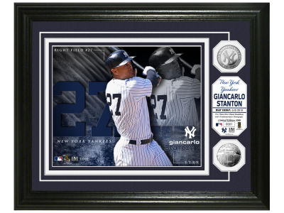 New York Yankees Giancarlo Stanton Highland Mint Bronze Coin Photo Mint