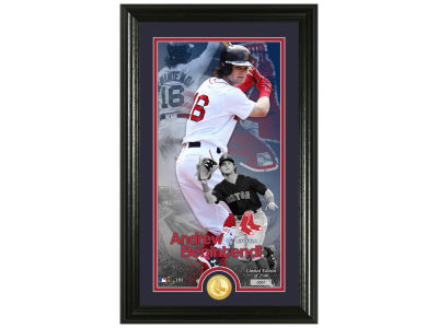 Boston Red Sox Andrew Benintendi  Supreme Bronze Coin Photo Mint V