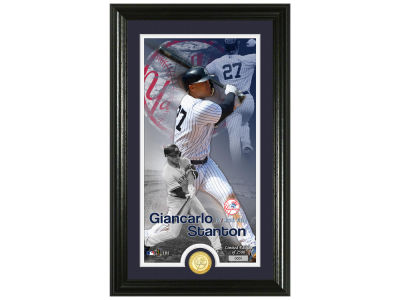 New York Yankees Giancarlo Stanton Highland Mint Supreme Bronze Coin Photo Mint V