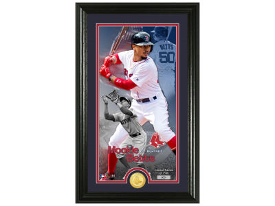 Boston Red Sox Mookie Betts Highland Mint Supreme Bronze Coin Photo Mint V