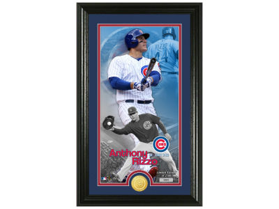 Chicago Cubs Anthony Rizzo Highland Mint Supreme Bronze Coin Photo Mint V