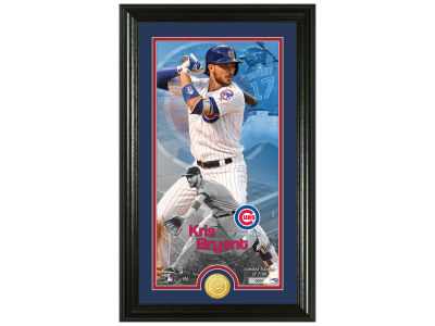 Chicago Cubs Kris Bryant Highland Mint Supreme Bronze Coin Photo Mint V