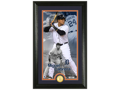 Detroit Tigers Miguel Cabrera Highland Mint Supreme Bronze Coin Photo Mint V