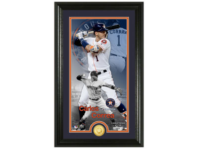 Houston Astros Carlos Correa Highland Mint Supreme Bronze Coin Photo Mint V
