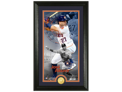 Houston Astros Jose Altuve Highland Mint Supreme Bronze Coin Photo Mint V