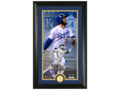 Kansas City Royals Alex Gordon Highland Mint Supreme Bronze Coin Photo Mint V