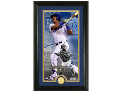 Kansas City Royals Salvador Perez Highland Mint Supreme Bronze Coin Photo Mint V