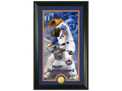New York Mets Noah Syndergaard  Highland Mint Supreme Bronze Coin Photo Mint V