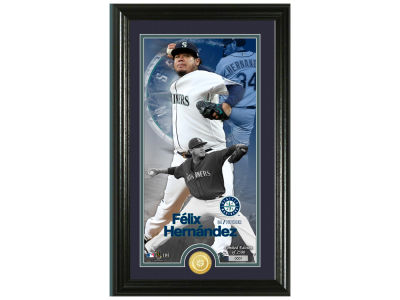 Seattle Mariners Felix Hernandez Highland Mint Supreme Bronze Coin Photo Mint V