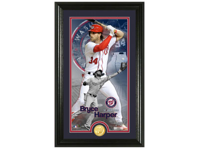 Washington Nationals Bryce Harper Highland Mint Supreme Bronze Coin Photo Mint V