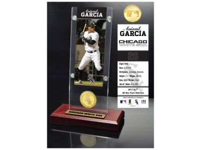 Chicago White Sox Avisail Garcia  Highland Mint Ticket & Bronze Coin Acrylic Desk Top