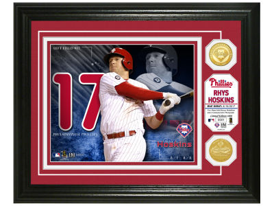 Philadelphia Phillies Rhys Hoskins Highland Mint Bronze Coin Photo Mint