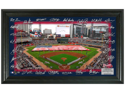 Atlanta Braves Highland Mint Signature Field