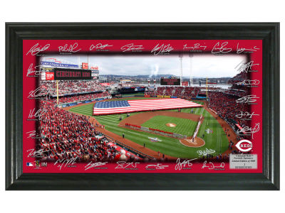 Cincinnati Reds Highland Mint Signature Field