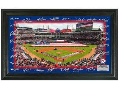 Texas Rangers Highland Mint Signature Field