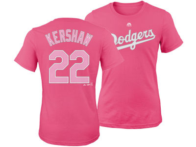 Los Angeles Dodgers Clayton Kershaw Majestic MLB Girls Player T-Shirt