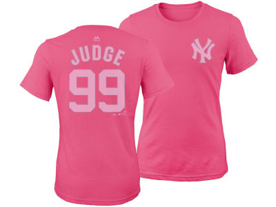New York Yankees Aaron Judge Majestic MLB Girls Player T-Shirt