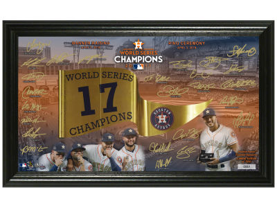 Houston Astros Highland Mint Signature Photo