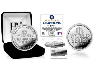 Houston Astros Highland Mint Silver Mint Coin V