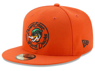 Down East Wood Ducks  New Era MiLB AC 59FIFTY Cap