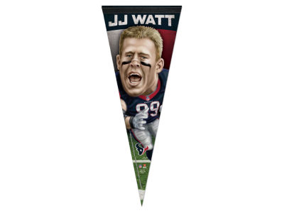 Houston Texans J. J. Watt 12x30 Premium Player Pennant