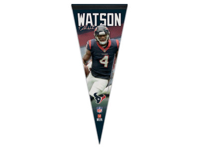 Houston Texans Deshaun Watson 12x30 Premium Player Pennant