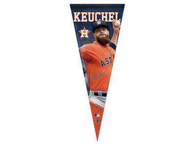 Houston Astros Dallas Keuchel 12x30 Premium Player Pennant