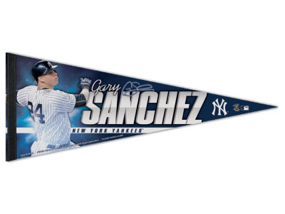 New York Yankees Gary Sanchez 12x30 Premium Player Pennant